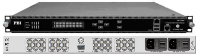 кодер 8xh.264-mpeg-2 sd-hd с 8-sdi-ip-модулятор dvb-c - dxp-8000em-82sc pbi_1